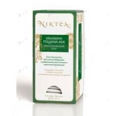 Чай зеленый в пакетиках для чашки Niktea Krasnaya Polyana (Никти Красная поляна), 25шт.*1,75г.