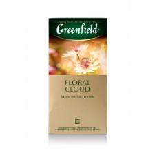 Чай зеленый в пакетиках для чашки Greenfield Floral Cloud (Гринфилд Флорал Клауд), 25*1,5 г