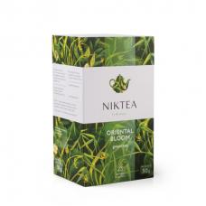 Чай зеленый в пакетиках для чашки Niktea Oriental Bloom (Никти Восточное Цветение) 25*2г.