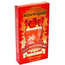 Чай черный в таблетках Конфуций Pu-er Наслаждение, 70 г