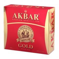 Чай черный в пакетиках для чашки Akbar Gold, 100*2 г