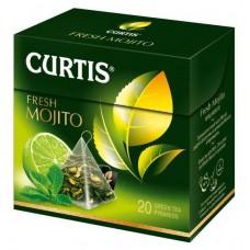 Чай зеленый в пирамидках Curtis Fresh Mojito, 20*1,7 г