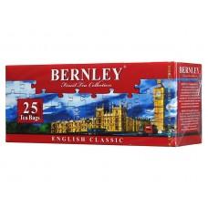 Чай черный в пакетиках для чашки Bernley English Classic, 25*2 г