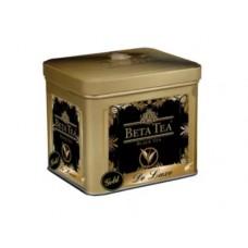 Чай черный листовой Beta Tea Де Люкс Золотой, ж/б, 100 г