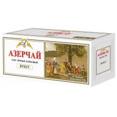 Чай черный в пакетиках для чашки Азерчай Букет, 25*2 г