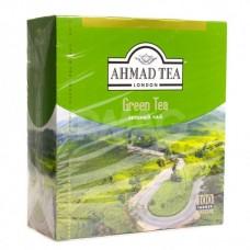 Чай зеленый в пакетиках для чашки Ахмад, 100*2 г