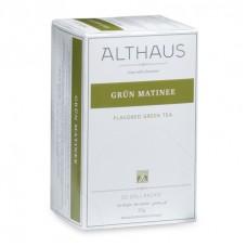Чай зеленый в пакетиках для чашки Althaus Grun Matinee (Альтхаус Грюн Mатине), 20*1,75 г