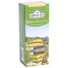 Чай зеленый в пакетиках для чашки Ахмад Китайский, 25*1,8 г